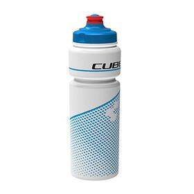 Cube Teamline Trinkflasche 750 ml weiß/blau